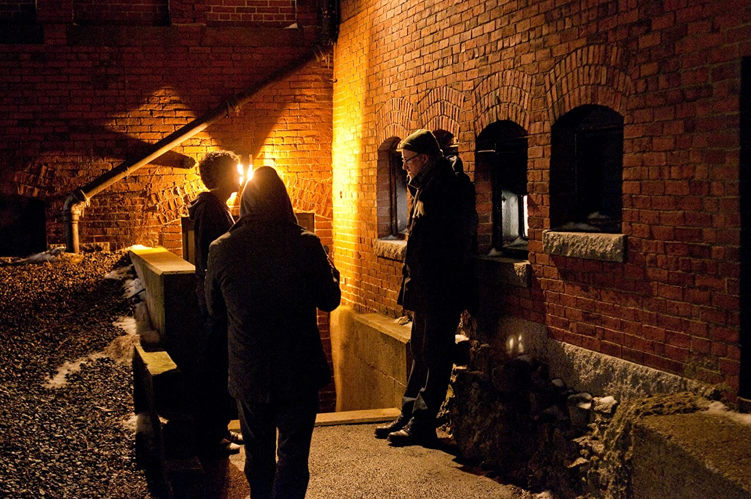 Дэвид Финчер и Джесси Айзенберг в «Социальной сети», 2010