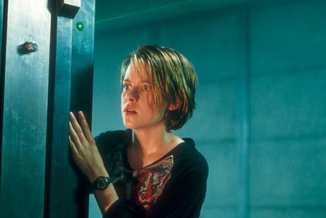Кристен Стюарт в «Комнате страха», 2002