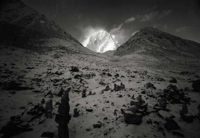 Гора Кайлас, Тибетское нагорье. Фотограф Кенро Идзу