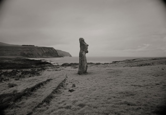 Остров Пасхи, 1989. Фотограф Кенро Идзу