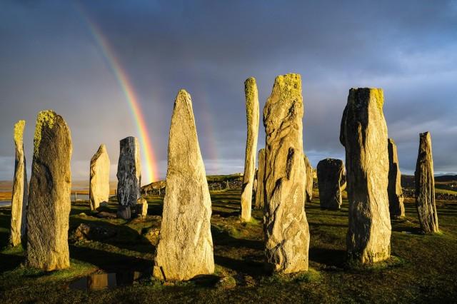 Калланиш – древнее культовое место на острове Льюис в Шотландии. Фотограф Хартмут Криниц
