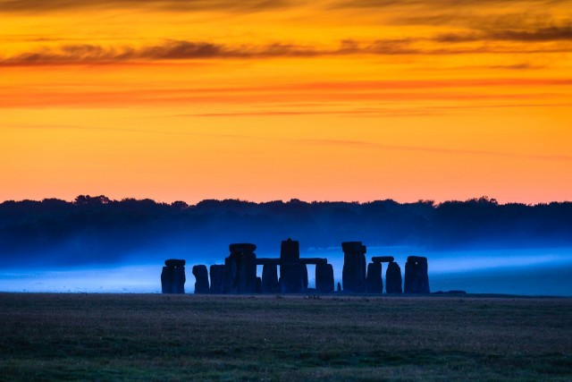 Мегалитический шедевр Стоунхендж. Графство Уилтшир, Англия. Фотограф Хартмут Криниц