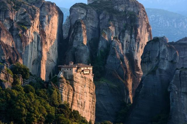 Монастыри Метеоры, Греция. Фотограф Хартмут Криниц
