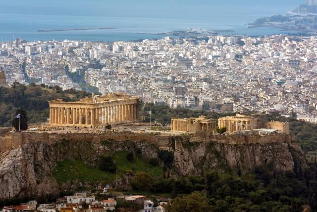 Архитектурные чудеса Афинского Акрополя, Греция. Фотограф Райнер Ункель