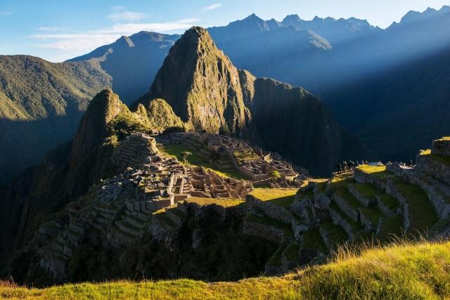 Город инков Мачу-Пикчу, Перу. Фотогрфы Дайан Кук и Лен Дженшел
