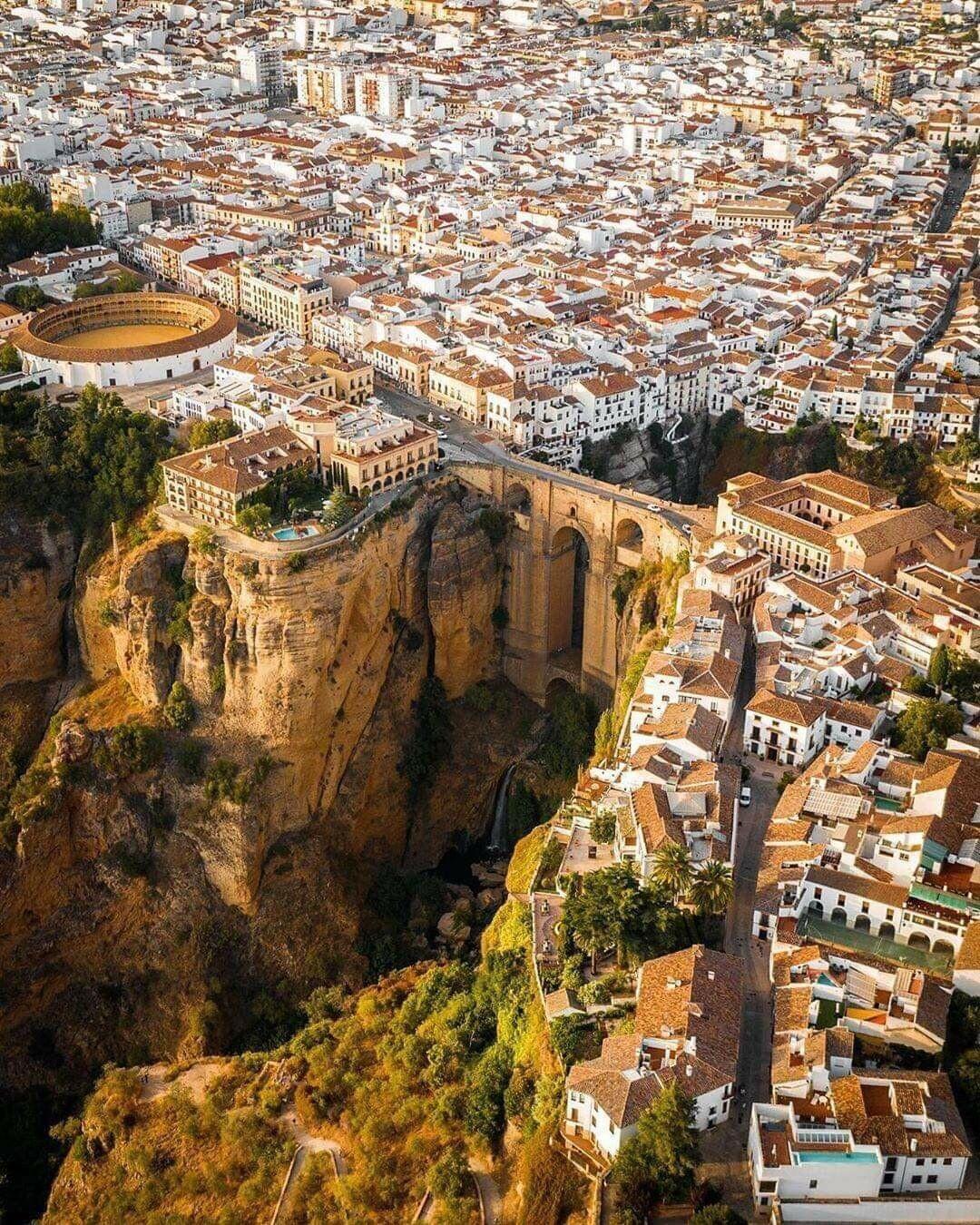 Ронда – один из древнейших городов в Андалусии, юг Испании