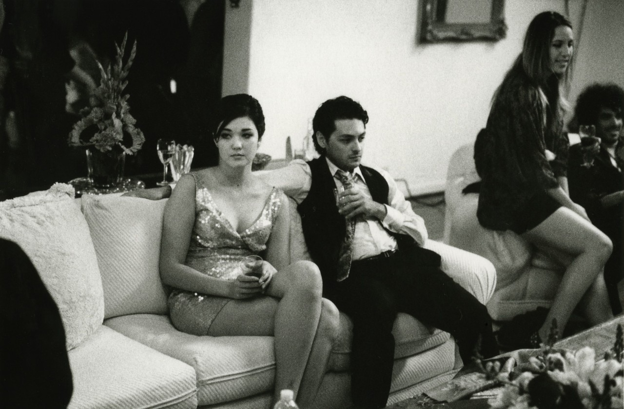 «Пара на вечеринке». Фотограф Элмо Тайд