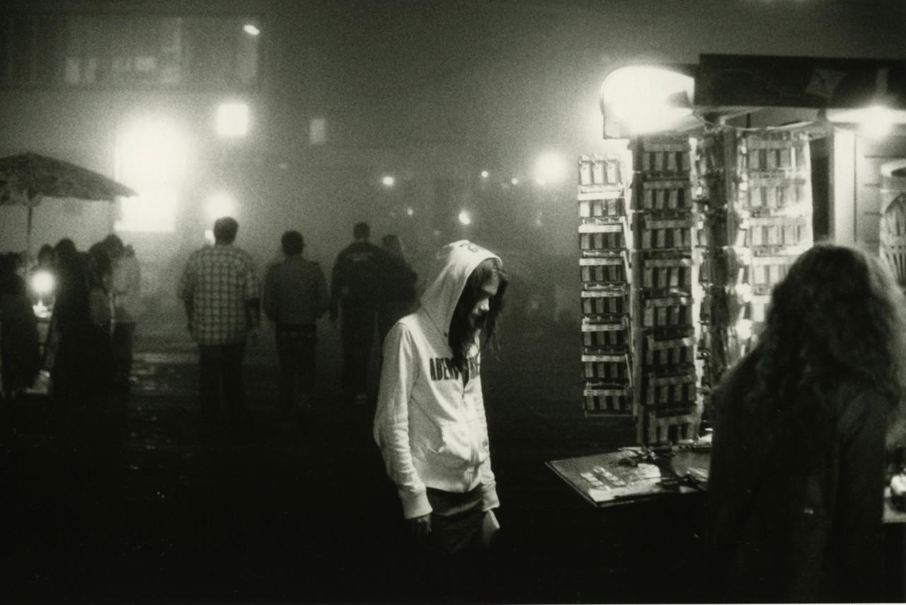 «Девушка в капюшоне». Фотограф Элмо Тайд