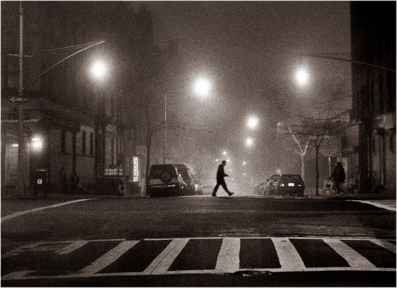 Туман, 5 часов утра, Нью-Йорк, 1991. Фотограф Мэтт Вебер