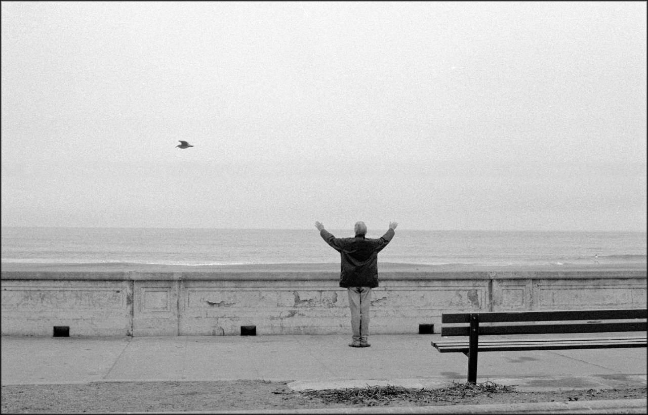Утреннее приветствие океана, 1992. Фотограф Мэтт Вебер
