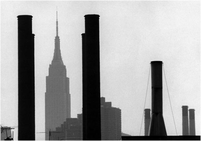 Эмпайр-стейт-билдинг, Нью-Йорк. Фотограф Мэтт Вебер