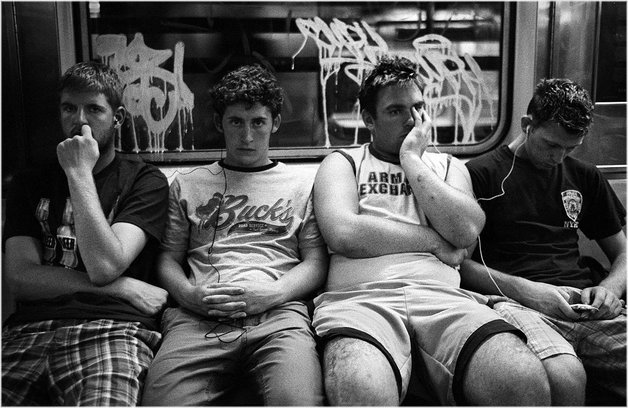 «Весёлая компания», Нью-Йорк, 2007. Фотограф Мэтт Вебер