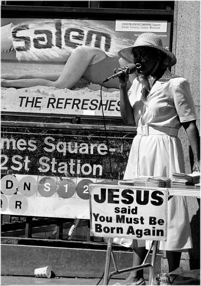 «Иисус сказал». Фотограф Мэтт Вебер