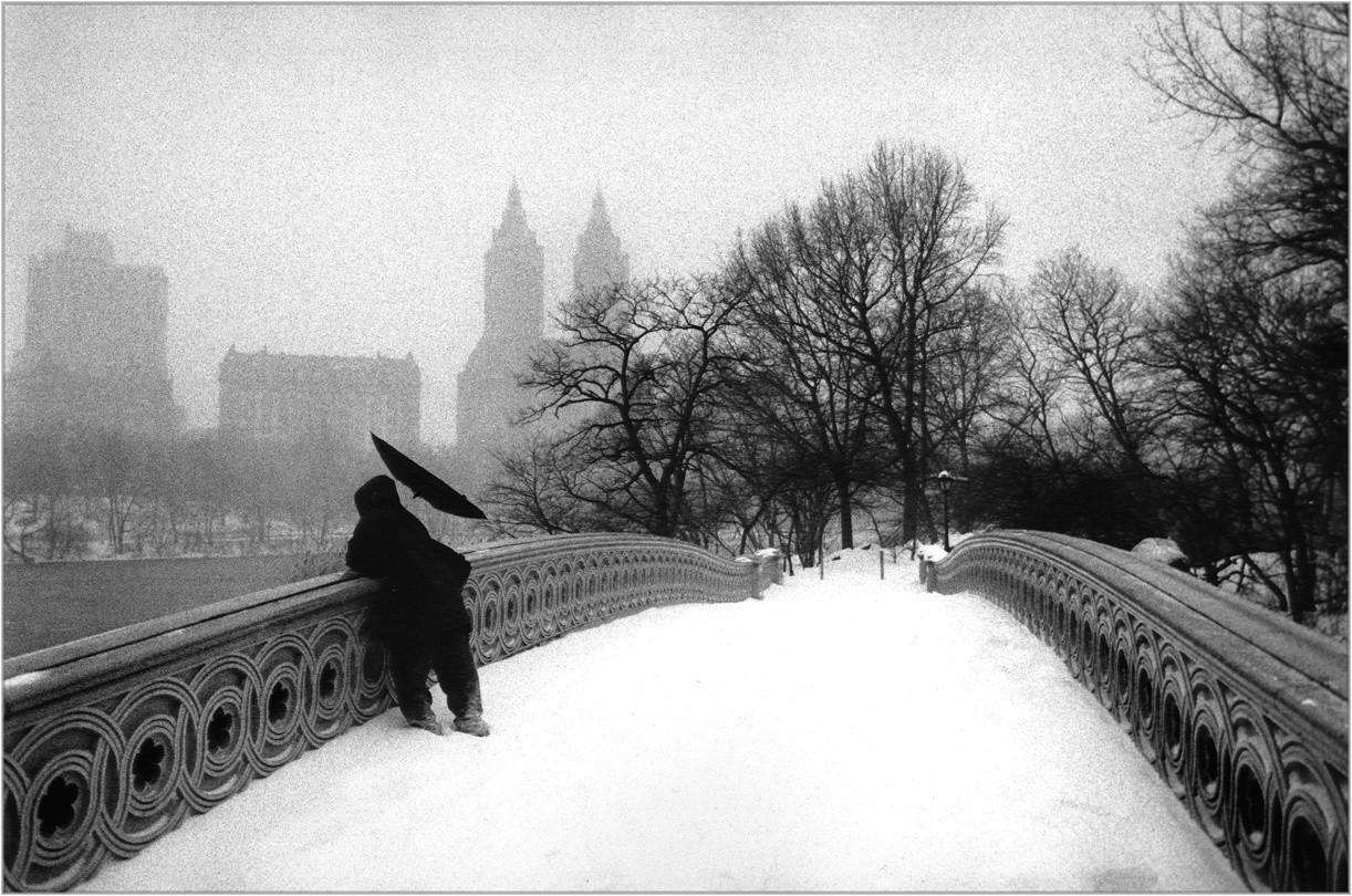 На мосту в Центральном парке, Нью-Йорк. Фотограф Мэтт Вебер