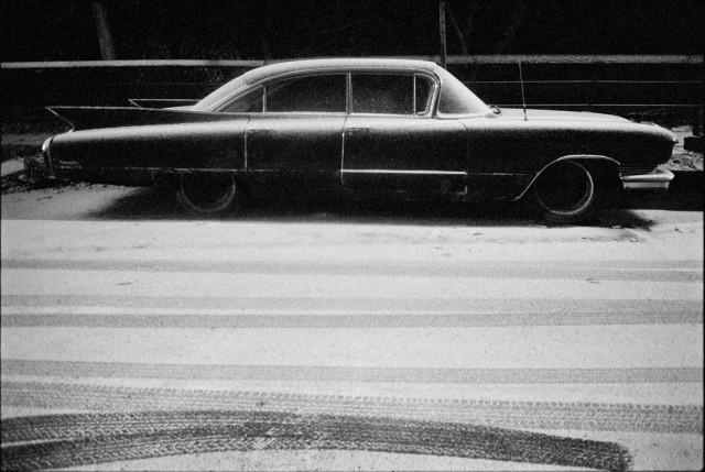 Припорошенный «Кадиллак», Гарлем, Нью-Йорк, 1989. Фотограф Мэтт Вебер