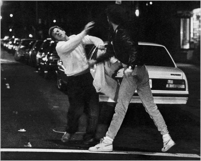 «Нокаут», 1989. Фотограф Мэтт Вебер