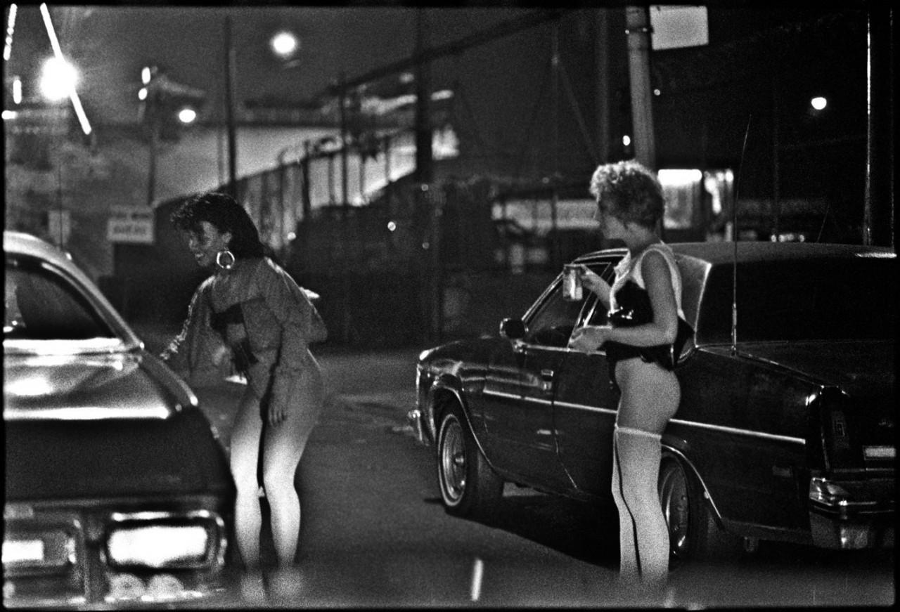 «Проститутка». Нью-Йорк, 1989. Фотограф Мэтт Вебер