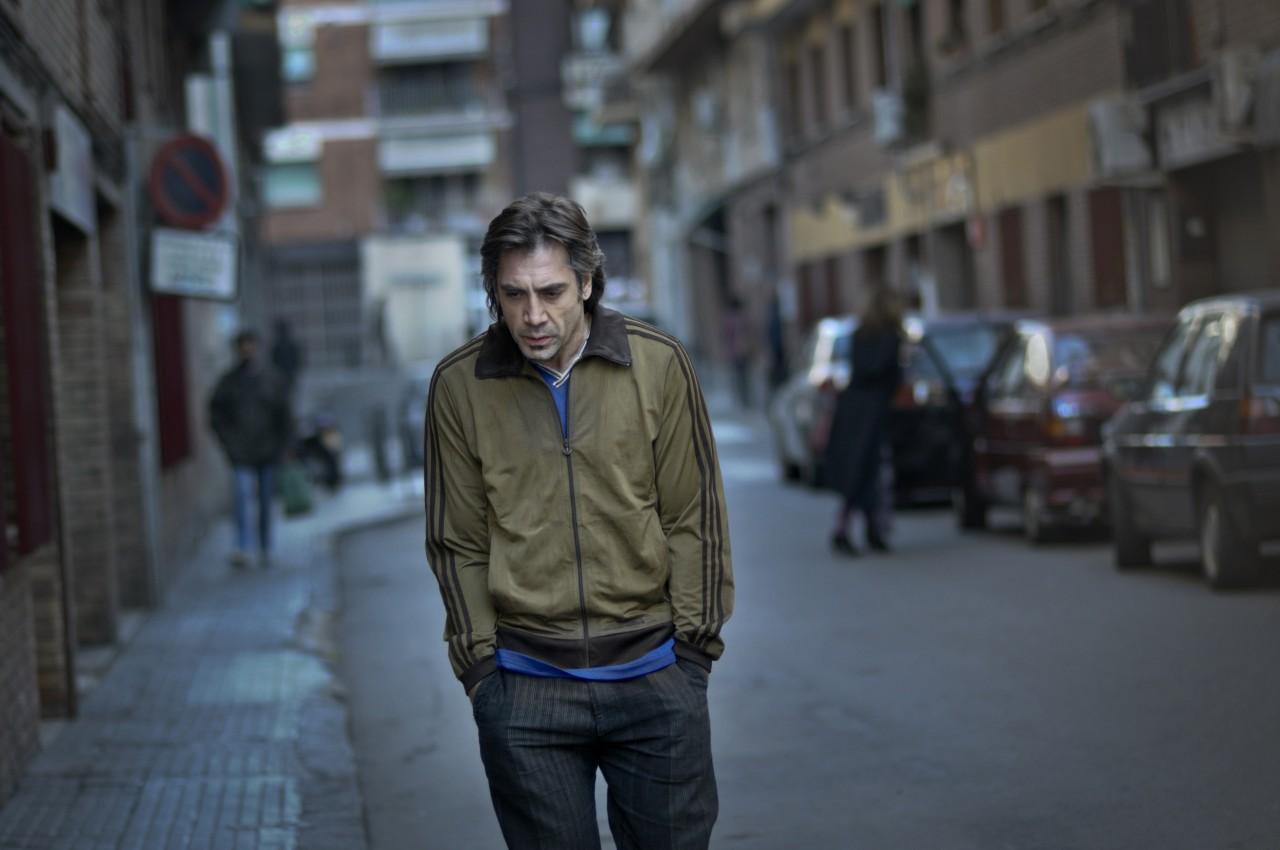 Хавьер Бардем на съёмках «Бьютифул», 2010