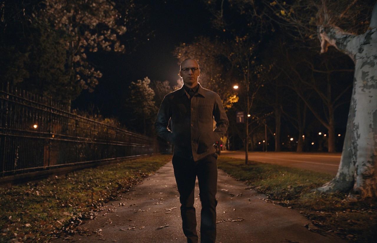 Джеймс Макэвой в «Сплите», 2016