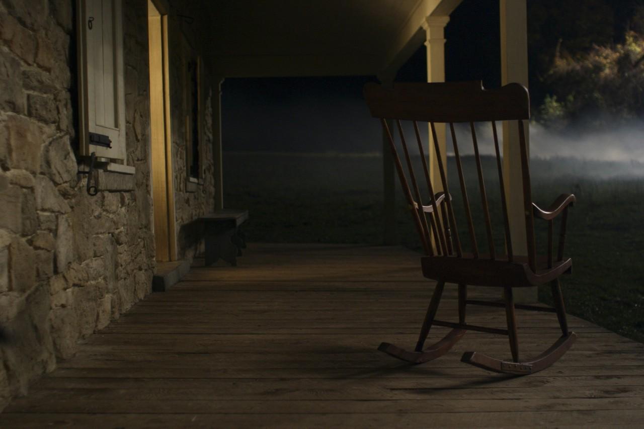 Кадр из фильма «Таинственный лес», 2004