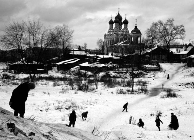 Пятинский район (из серии Москва 1962-1966). Фотограф Пьерджорджо Бранци