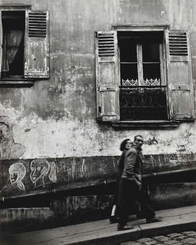 Стена, Париж, 1954. Фотограф Пьерджорджо Бранци