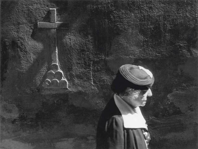 Флоренция, Виколо де Донати, 1955. Фотограф Пьерджорджо Бранци