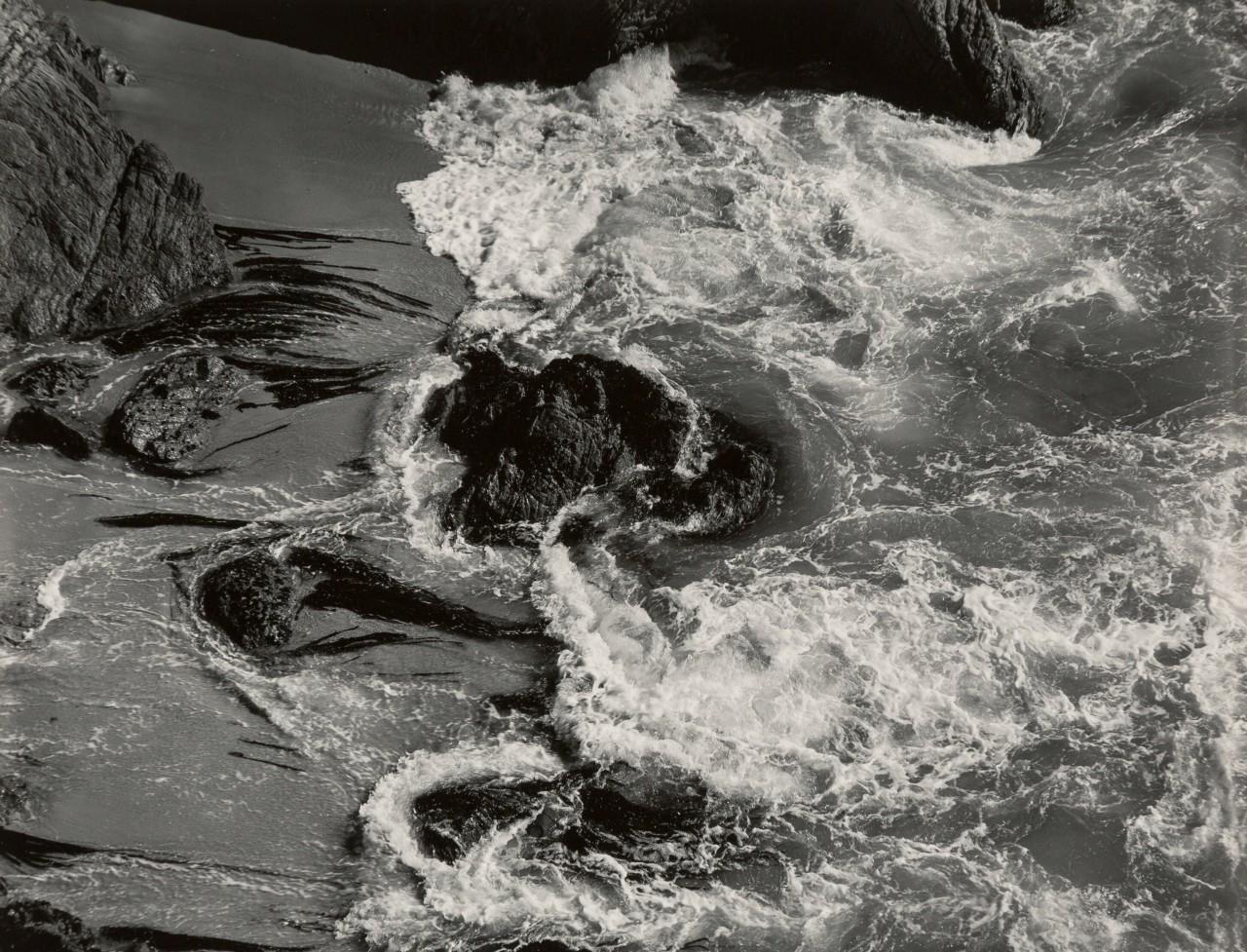 Прибой,1938. Фотограф Эдвард Уэстон