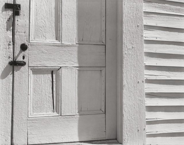 Дверь церкви, Орнитос, 1940. Фотограф Эдвард Уэстон