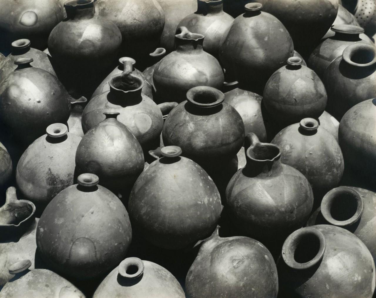Горшки Оахака, Мексика, 1926. Фотограф Эдвард Уэстон