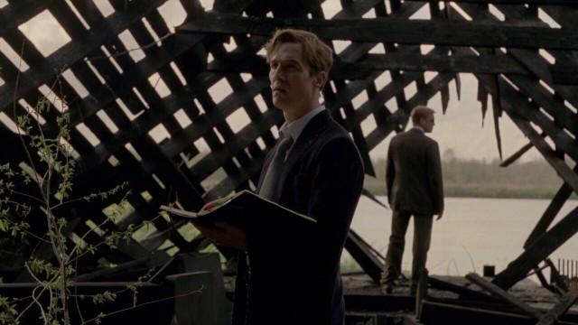 Мэттью Макконахи в сериале «Настоящий детектив», 2014