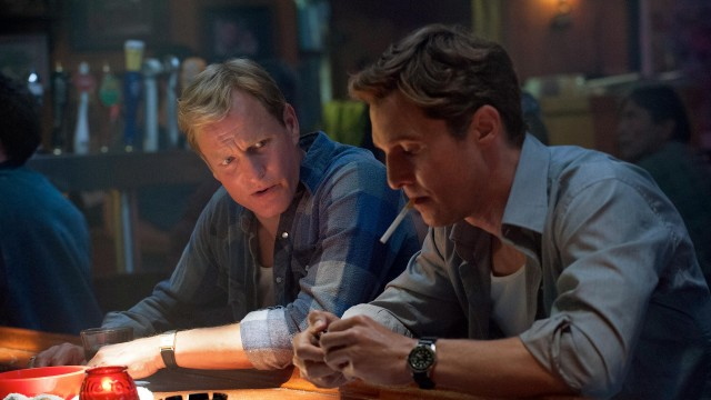Мэттью Макконахи и Вуди Харрельсон в сериале «Настоящий детектив», 2014