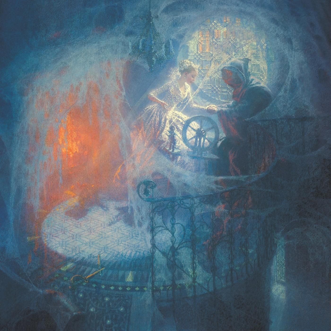 «Спящая красавица». Иллюстратор: Кристиан Бирмингем