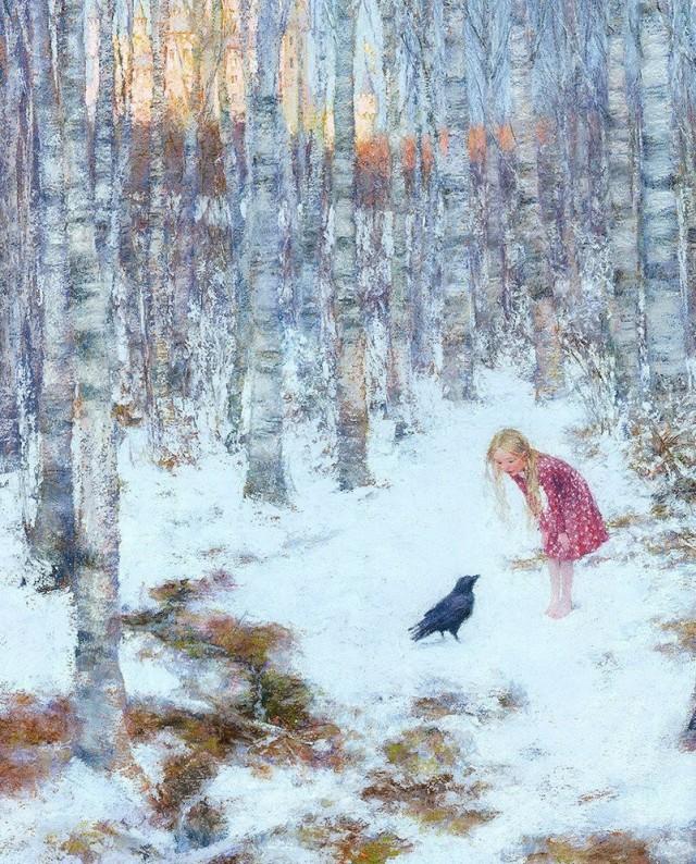 «Снежная королева». Иллюстратор: Кристиан Бирмингем