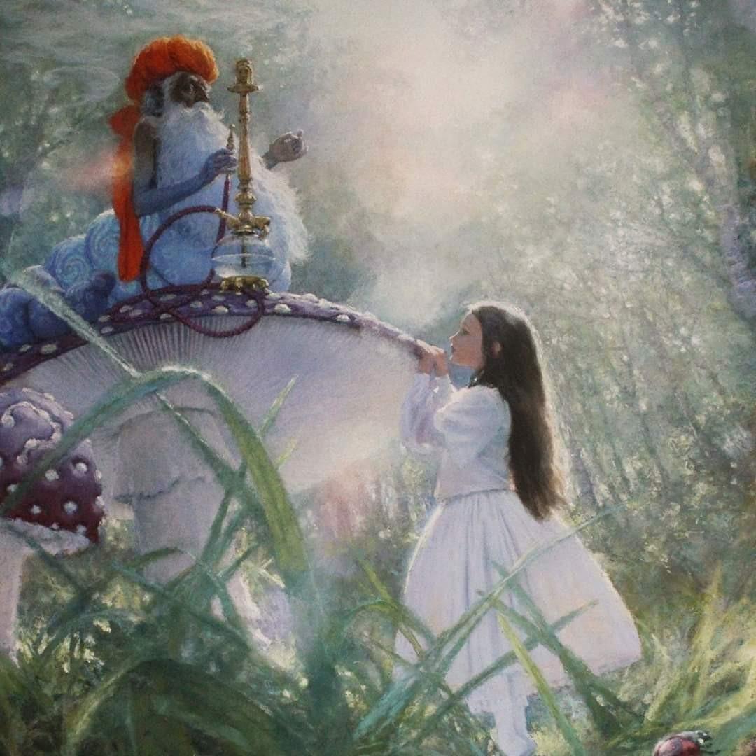 «Алиса в стране чудес». Иллюстратор: Кристиан Бирмингем