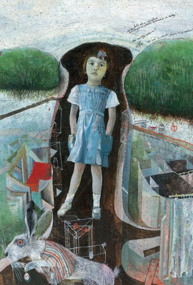 «Алиса в Стране чудес. Алиса в Зазеркалье». Иллюстратор: Душан Каллай