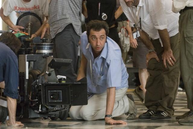 Паоло Соррентино на съёмках «Изумительного», 2008