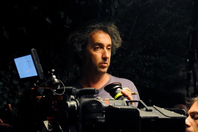 Паоло Соррентино на съёмках фильма «Великая красота», 2013
