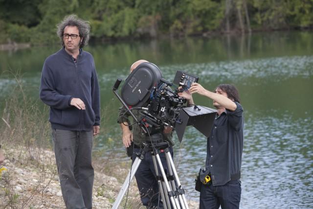 Паоло Соррентино на съёмках фильма «Где бы ты ни был», 2011