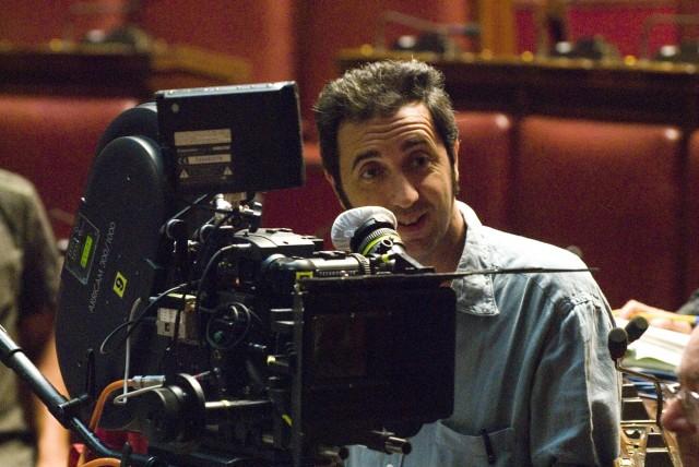 Паоло Соррентино на съёмках фильма «Изумительный», 2008