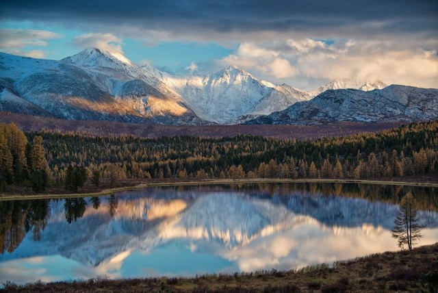 Озеро Киделю, Горный Алтай. Фотограф Светлана Казина