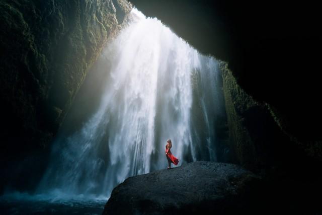 Пещера. Фотограф Элизабет Гэдд