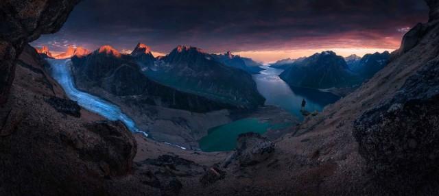 Среди горных озёр. Фотограф Макс Райв