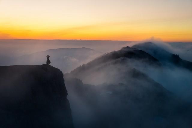 «Оранжевый горизонт». Фотограф Элизабет Гэдд