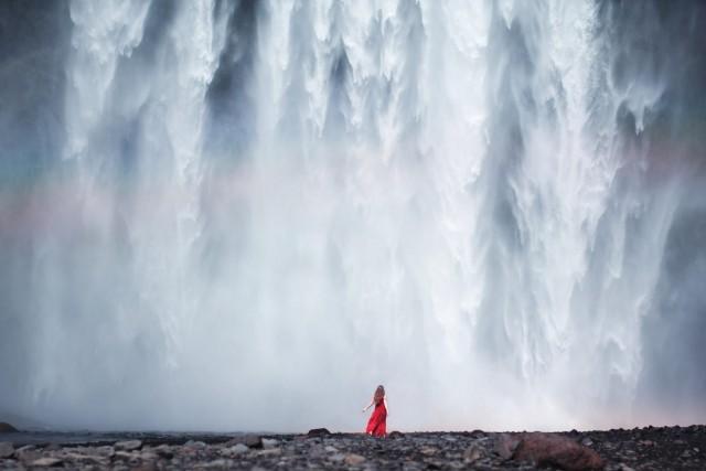 «Свободное падение». Фотограф Элизабет Гэдд