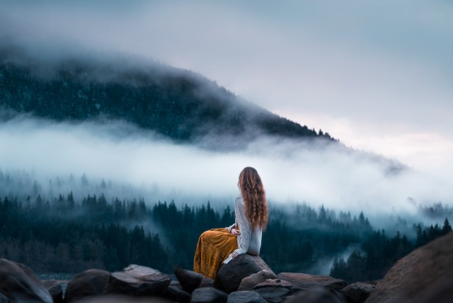«Утренняя медитация». Фотограф Элизабет Гэдд