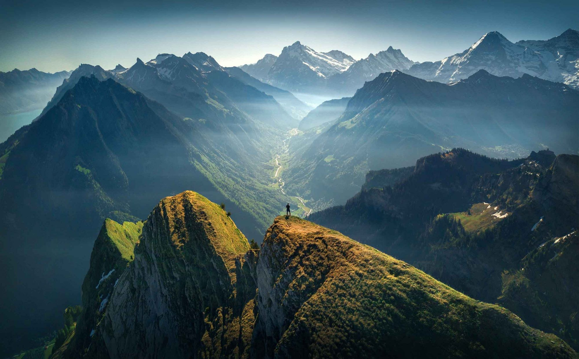 Альпы. Фотограф Макс Райв