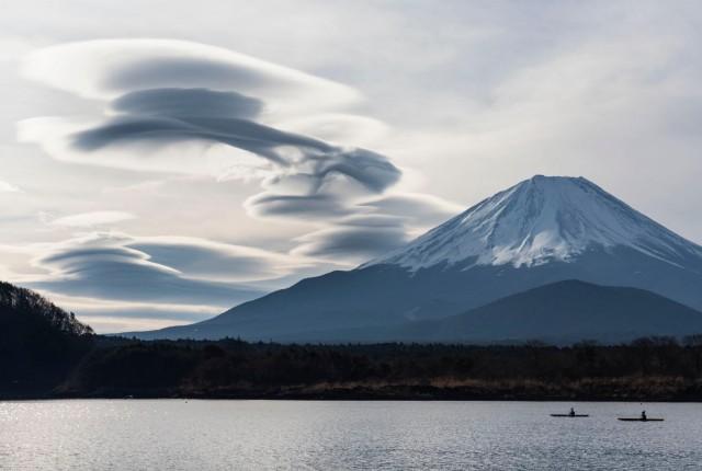 Фудзи, Япония. Фотограф Коусуке Китадзима