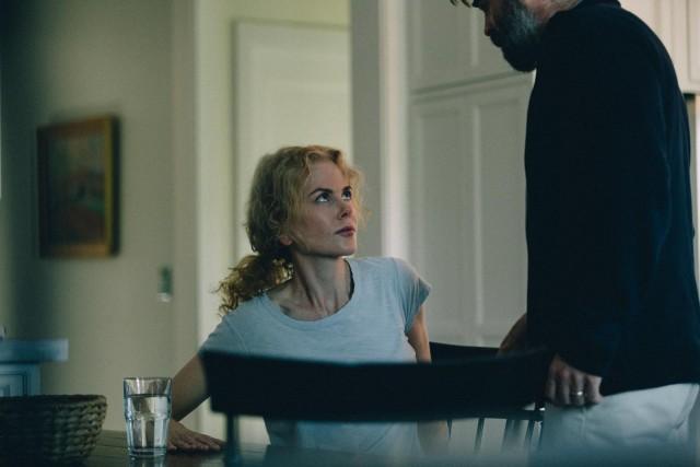 Николь Кидман и Колин Фаррелл. Кадр из фильма «Убийство священного оленя», 2017