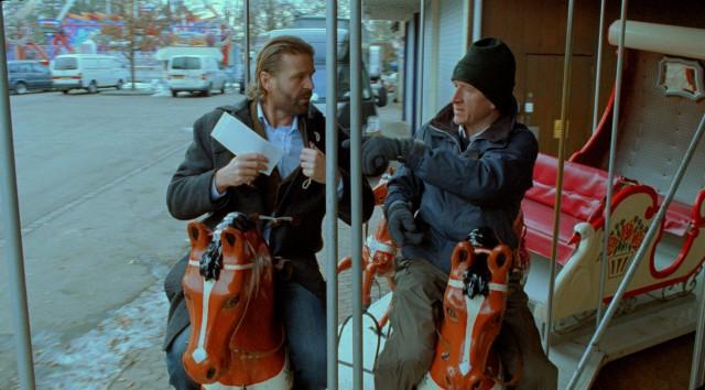Йенс Альбинус и Петер Ганцлер в фильме «Самый главный босс», 2006